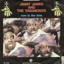 JIMMY JAMES & VAGABOND now is the time / I want...- 7' - MINT