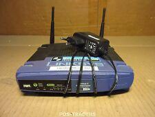 Linksys WRT54GL v1.1 Wi-Fi Router - 802.11g, 4xLAN 2X ANTENNASINCL PSU
