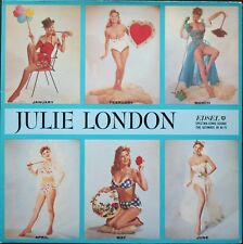 JULIE LONDON CALENDAR GIRL CHEESECAKE SEXY COVER RARE 33T LP VINYLE NEUF MINT