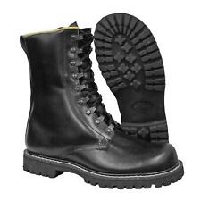 More details for original german army leather boot military combat field fishing hunting gear