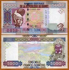 Guinea, 5000 (5,000) Francs, 2012, P-41 (41b), UNC