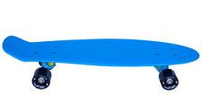 "AscotDrifting Cruiser Skateboard 27"" Blue With Black Wheels"