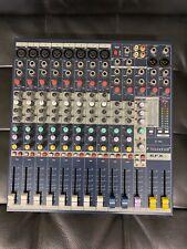 Soundcraft EFX8 + 2/2 Mischpult mit Lexicon Hall