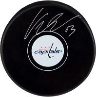 Jakub Vrana Washington Capitals Signed Hockey Puck - Fanatics