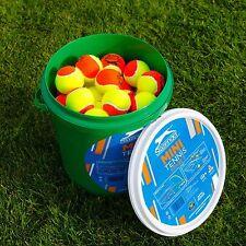 Slazenger Mini Tennis Balls x 60 [Stage 2 / Orange] [Net World Sports]