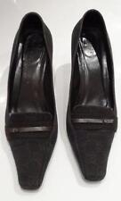 Gucci Canvas Heels Women's Court Shoes