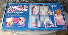 Vintage#Mattel The Heart Family Loving Home House Barbie Nib# Famiglia Cuore