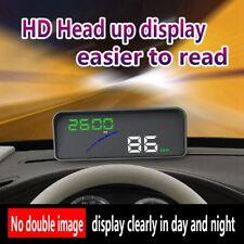 P9 HUD Smart GPS Auto Head Up Display OBD2 ueber Geschwindigkeit Warnung Al U8E9