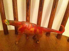vintage Unknown dinosaur molded plastic figure Realistic Color Detail Rare Toy