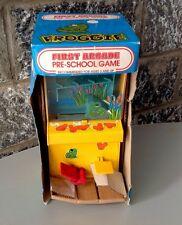 Vintage Ultra Rare Console Pre School Pre Game & Watch FROGGIE Frogger Table Top