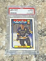 1992 Topps All Star Brett Hull #260 PSA 10 GEM MINT St Louis Blues HOF