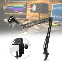 Microphone Suspension Arm Mic Stand Holder For Broadcasting Studio Recording