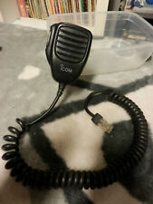 ICOM HM-100N Microphone VHF Marine Radio Émetteur Récepteur Speacker Microphone