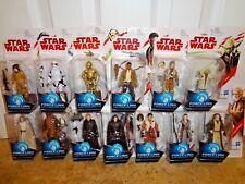 """Star Wars 3.75"""" Last Jedi Wave 1 Set of 13 C3PO KYLO REY CHEWBACCA LUKE YODA OBI"""