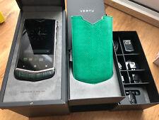 Rare Vertu Constellation V Green Alligator Colour Used Very Good Condition