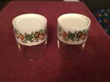 Vintage Set of Spice Of Life Pyrex Shaker Jars