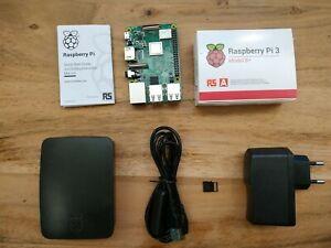Raspberry Pi 3 B+ // 32GB microSD // Case // 5v Power Supply