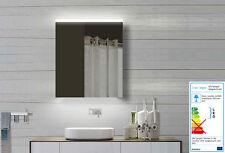Alu Badezimmerspiegelschrank Bad Spiegelschrank mit LED Licht Steckdose 60x70cm