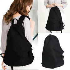 Women Men Canvas Shoulder Backpack Rucksack School Travel Laptop College Bag