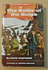The Battle of the Bulge - by David Shepherd 1961 Vintage Book