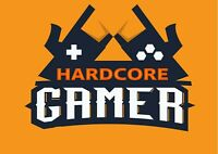 A4| Cool Hardcore Gamer Sign Poster Size A4 Game Gaming Art Poster Gift #14423