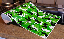 """GIRL CAMO DECAL MADE FROM 3M WRAP VINYL 48""""x15"""" TRUCK CAMO TREE PRINT CAMOUFLAGE"""