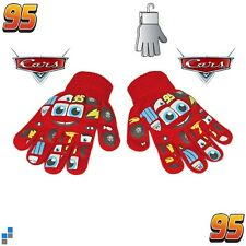 Disney Cars Kinderhandschuhe Jungen Winter Handschuhe mit PVC Aufdruck