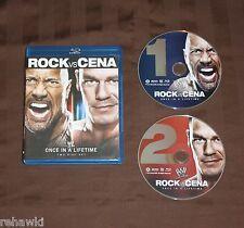 WWE: Once in a Lifetime - The Rock vs. John Cena (Blu-ray Disc, 2012) WWF