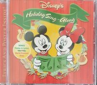 Disney's Holiday Sing-Along (CD 2002) Complete with Poster & Lyrics Guaranteed
