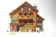 LEMAX villaggio natalizio nostalgia Village coll. Vail Village Johann 's Chalet + INN