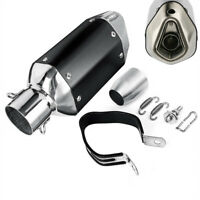 """10.6"""" Motorcycle Scooter Muffler Kit Stainless Exhaust Pipe w/ DB Killer 36-51mm"""