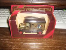 MATCHBOX MODELS OF YESTERYEAR COLLECTION - Y-12 1912 MODEL T FORD VAN - 1984