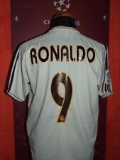 RONALDO REAL MADRID 2003-04 MAGLIA SHIRT CALCIO FOOTBALL MAILLOT JERSEY SOCCER M