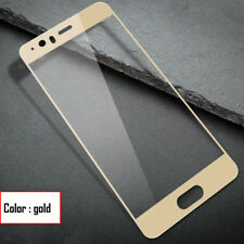100% Genuine Tempered Glass Film FULL Screen Protector for Huawei P10 Plus Gold
