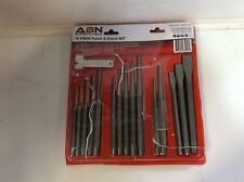 Clearance- ABN Punch and Chisel 16-Piece Set for Automotive and Body Work