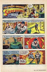 World's Greatest Superheroes - Robin - full page Sunday comic - Dec. 17, 1978