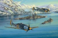 Eismeer Patrol by Anthony Saunders signed by Tirpitz and Luftwaffe Veterans