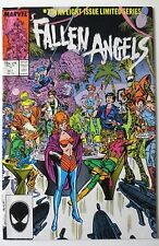 Fallen Angels #7 (Oct 1987, Marvel) Limited Series (C3843)
