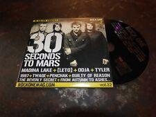 30 SECONDS TO MARS - ATTACK !!!!!!!!!!!!!!!!!!!!RARE CD !!!!!