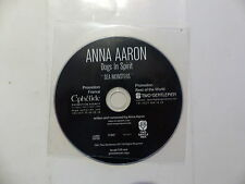CD  Promo ANNA AARON Dogs in spirit Sea monsters TWOGTL 028-SEA