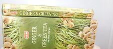 Hem Ginger & Green Tea Incense 20 Sticks