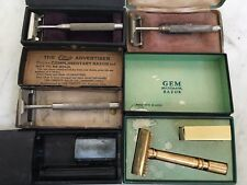 Vintage Safety Razors, lot of 5. Christy, Star, GEM & WM Enders