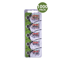 Maxell 394 SR936SW SG9 SR45 Silver Oxide Watch Battery (1000 Pack)