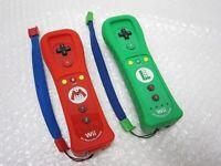 Nintendo Wii Official Remote controller Mario & Luigi Motion Plus Wii U F/S JPN