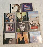 Lot of 11 CDs! Various Artists, Samba, Pop, Karaoke, Oldies, Film Scores, Etc
