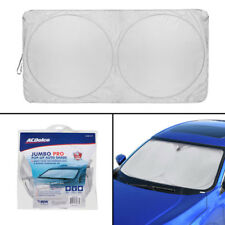 ACDelco Jumbo Car Sun Shade Heat Reflector - Complete Windshield Coverage