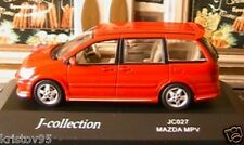 MAZDA MPV BREAK V6 J-COLLECTION 1/43 MONOSPACE JAPON ROUGE RED ROSSO ROT