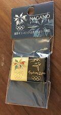Nagano 1998 Salt Lake City 2002 Olympic Bridge Pin
