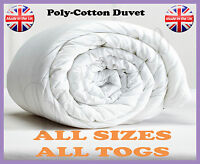 Quality Poly-Cotton Duvet, Anti-Allergic All Sizes All Togs