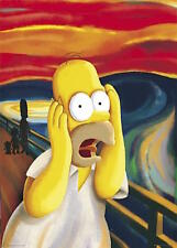 THE SIMPSONS - HOMER SCREAM POSTER 24x36 - 49026